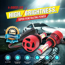 H11 H9 H8 6000K White 2350W 352500LM 4-Sided CREE LED Headlight Conversion Kit