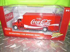 international 4200 beverage truck coca cola coke Johnny WHITE Lightning JL 1/24