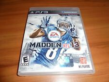 Madden NFL Football 13 (Sony PlayStation 3, 2012) Used Complete 2013 PS3