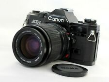 Canon AE-1 Black SLR Camera w/ Sigma Zoom-Master 35-70mm F2.8-4 Lens from Japan