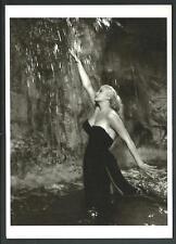 Anita Ekberg - In la Doce Vita di Fellini - cartolina