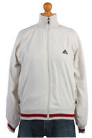 ViNTAGE 90s ADIDAS CASUALS RETRO TRACK JACKET TRACKSUIT TOP Size L- SW1442