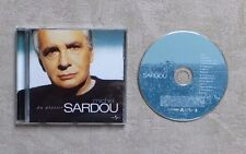 "CD AUDIO MUSIQUE / MICHEL SARDOU ""DU PLAISIR"" 14T CD ALBUM OPENDISC 2004 POP"