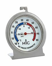 Refrigerator Freezer Thermometer, Large 2.5-Inch Easy-Read Face