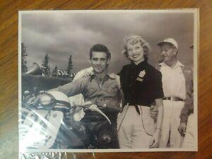 1954 HARLEY DAVIDSON MOTORCYCLE RACER BILL MEIER PHOTO PIKES PEAK HILL CLIMB AMA