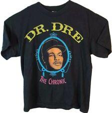 Dr Dre The Chronic Mens L Philcos Graphic T-Shirt Black Crew Neck Vintage Tee