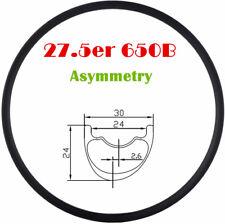 27.5er mountain bike Asymmetric profile design 30mm Wide Carbon Rim MTB bike rim