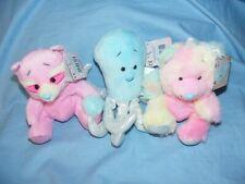 My Blue Nose Friends March 2020 Set Caticorn Racoon Octopus Brand New In Stock