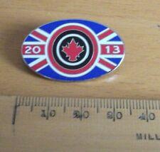 Shooting pin badge - GB Rifle Team to Canada 2013