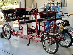 Surrey Beach Bikes, 4 wheel Bicycle 4 Adults 2 Small Children
