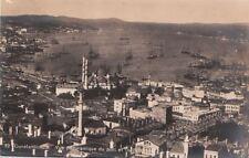 RPPC Postcard Constantinople Turkey Panoramique port