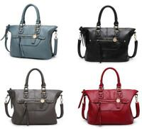 New Handbag Lady Leather Shoulder Bag Tote Women Motorcycle bag Messenger Bag