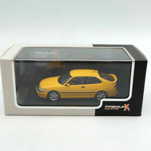 Premium X 1:43 SAAB Viggen 1998 PRD432 Diecast Models Limited Collection Yellow