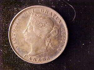 VICTORIA 25 CENTS 1874-H