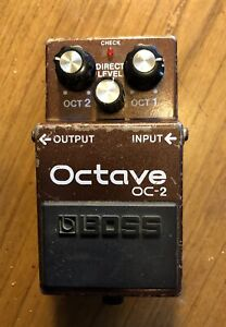 Boss OC-2 Octave Guitar Effect Pedal Free Shipping