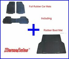 Full Rubber Protection Mat Set For Audi 100, 200, 80, A4 Avant, A6, Allroad