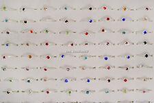 Wholesale Mixed Jewelry Lots 30pcs Women's Silver Plated Rhinestone Rings
