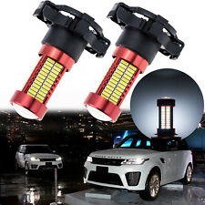 Xenon White PY24W 106-SMD No Error Projector LED Bulbs Front Turn Signal Lights