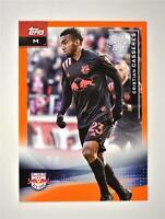 2021 MLS Base Orange 22 Under 22 #163 Cristian Casseres /25 - New York Red Bulls