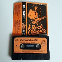 DURACELL ROCK CLASSICS CASSETTE TAPE JIMI HENDRIX GENESIS THE MOVE THIN LIZZY ++