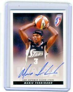 Marie Ferdinand 2006 WNBA Rittenhouse Archives Certified On Card Autograph Auto