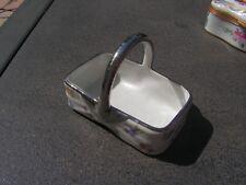 beau panier porcelaine de limoges    (m)