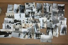 Vintage Photographs Lot of 40 Black White FAMILY FRIENDS