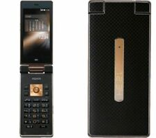 SHARP AQUOS K Android Flip Phone Cell AU KDDI Unlocked Black New 007SH SHF31