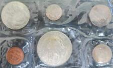1968 Panama Mint Set 6 Coin Set .9 Silver 1 Balboa .4 Silver Half Balboa
