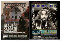 BLACK SABBATH 50 YEARS - NEIL PEART RUSH - Jedbangers #135 Magazine Argentina