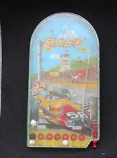 Auto Race Pinball Game Vintage Tin Wolverine Toy Booneville Arkansas #144 Racing