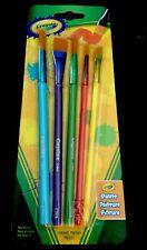 Crayola Assorted Colors Crayola® Paint Brush Set 5 Pack