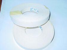 Iron on Edging-Pre-Glued-Plastic- Melamine,Edge Band tape, 22mm white 10 meters