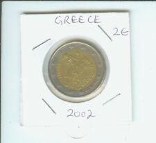 2002 2€ 2 € GREECE 2 Euro Bimetallic Coin Abduction of Europe by Zeus !