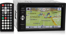 "Soundstream VRN-64HB Double DIN Bluetooth GPS Nav Car Stereo w/ 6.2"" Screen"