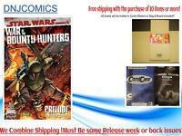 STAR WARS WAR BOUNTY HUNTERS ALPHA #1 5/5 NM Marvel Comics