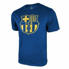 Icon Sports Men FC Barcelona Officially Licensed Soccer T-Shirt Cotton Tee -05