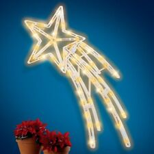 Large Shimmering Twinkling Shooting Christmas Star Indoor/Outdoor Decoration