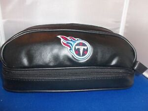 TENNESSEE TITANS MENS FOOTBALL DELUXE GROOMING TOILETRY DOPP BAG + NFL COLOGNE