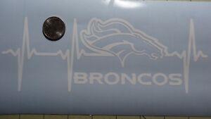 Denver Broncos Life car decal