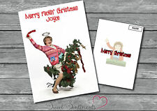 Personalised Mrs Browns Boys Feckin' Christmas Card - A5 Glossy Your Name