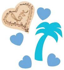 Beach Love Confetti Wedding Bridal Shower Engagement Pool or Luau Party