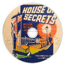 The House of Secrets (1936) Mystery Movie / Film on DVD