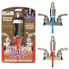 Water Glow LED Faucet Light Temperature Sensor Adapter