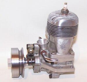 Very Rare Snodgrass .60 Spark Ignition Gas Powered Tether Car Engine