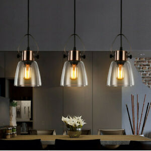 Kitchen Pendant Lighting Glass Kitchen Pendant Lamp Bar Lamp Retro Ceiling Light