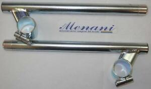 Universal clip-on bars fit 30mm fork tubes 10% angle - Menani Racing AM404-30-10
