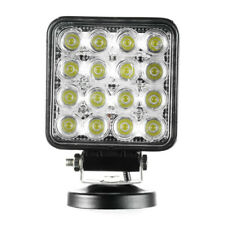 48W LED Work Light 5D Lens Truck OffRoad Tractor Flood Lights 12V 24V Round