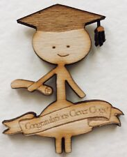 'Graduation' Magnet - Personalised Gift/Present/Keepsake