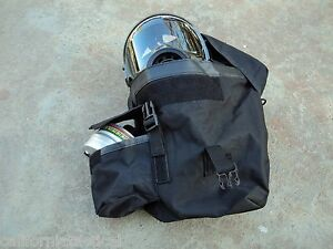 Tactical Gas Mask Pouch / Respirator Carrier/Bag Hvy-Duty,Drop-Leg,Thigh-Straps+